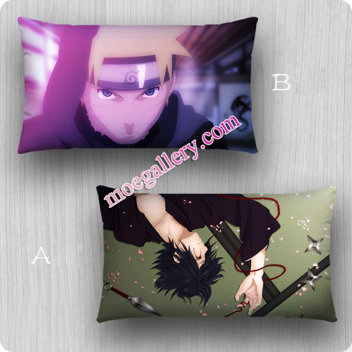 Naruto Dakimakura Sasuke Uchiha Uzumaki Naruto Standard Pillow