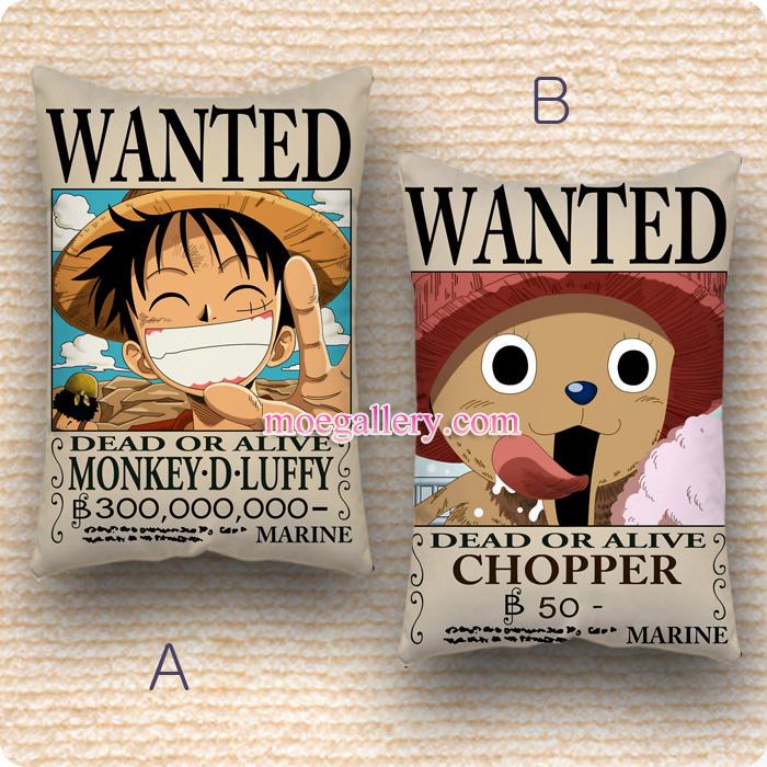 One Piece Dakimakura Monkey D Luffy Standard Pillow