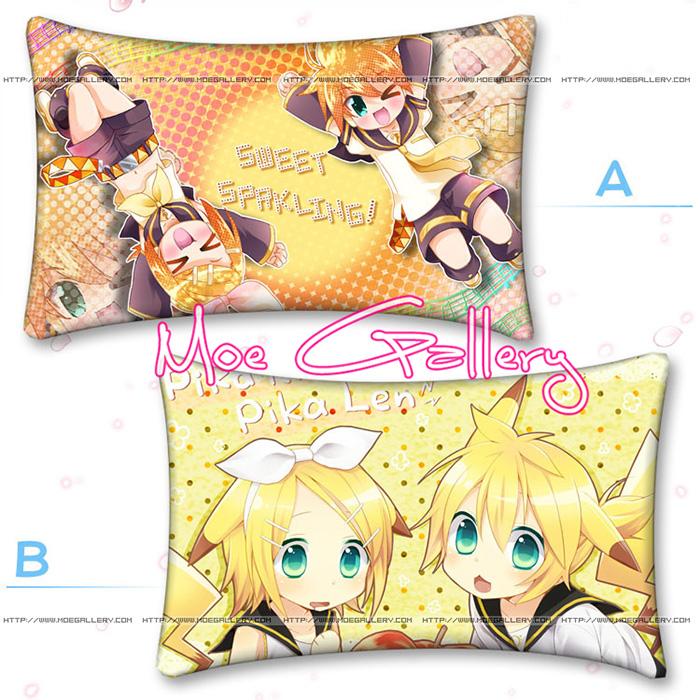 Vocaloid Kagamine Rin Len Standard Pillow 04