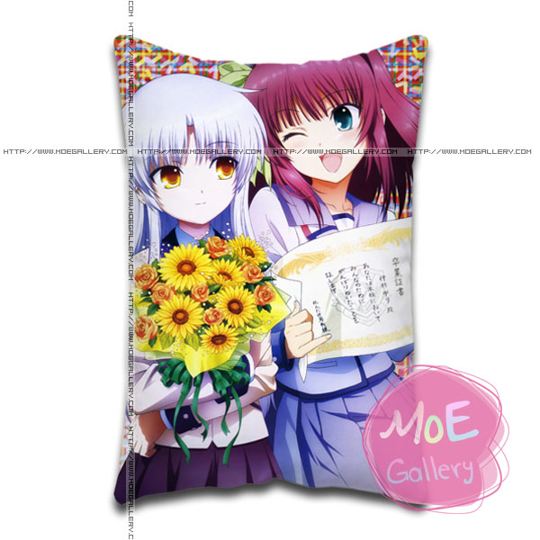 Angel Beats Kanade Tachibana Standard Pillows Covers M