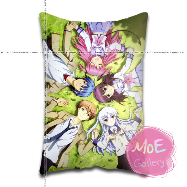 Angel Beats Kanade Tachibana Standard Pillows Covers H