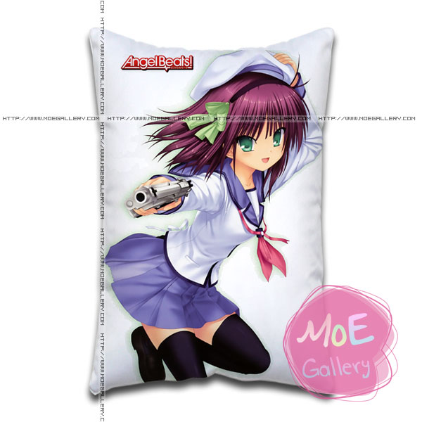 Angel Beats Yuri Nakamura Standard Pillows Covers H