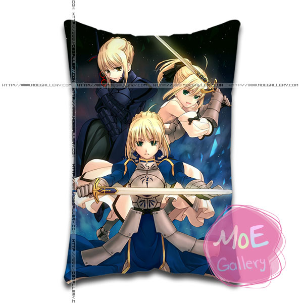 Fate Stay Night Saber Standard Pillows Covers L