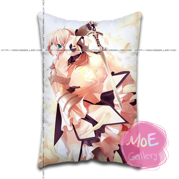 Fate Stay Night Saber Standard Pillows Covers S