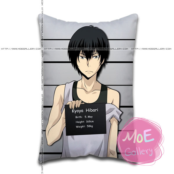Hitman Reborn Kyoya Hibari Standard Pillows Covers