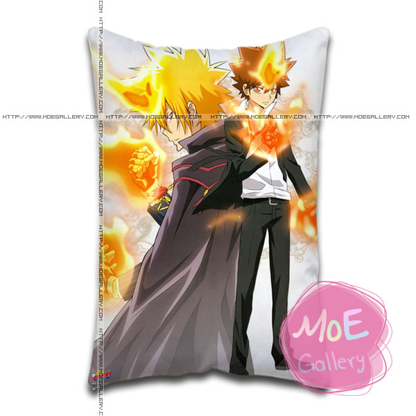 Hitman Reborn Tsunayoshi Sawada Standard Pillows Covers A