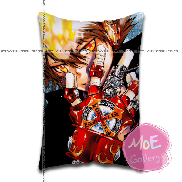 Hitman Reborn Tsunayoshi Sawada Standard Pillows Covers D