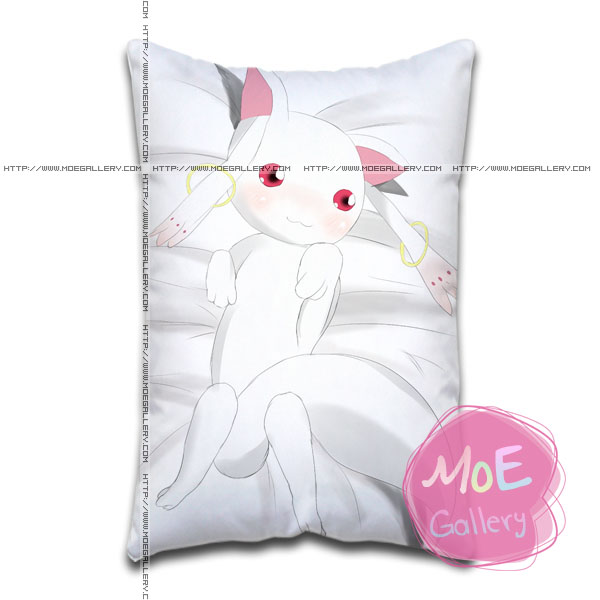 Puella Magi Madoka Magica Kyubey Standard Pillows Covers C