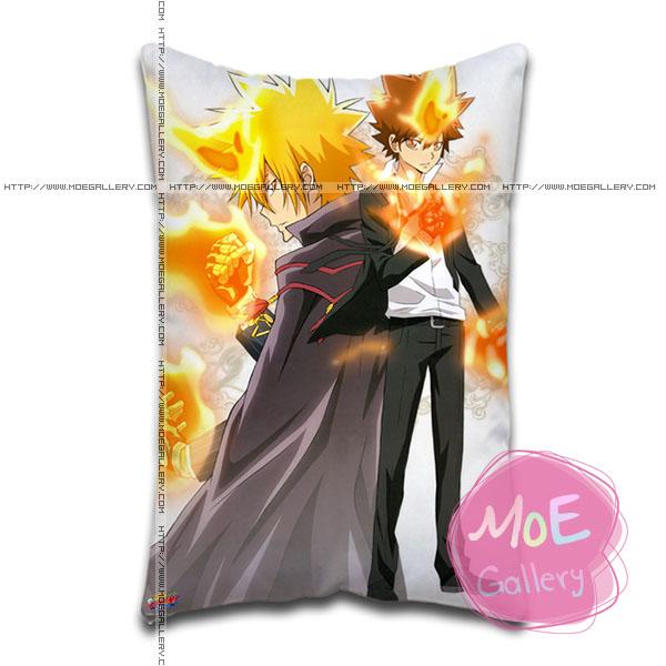 Hitman Reborn Tsunayoshi Sawada Standard Pillows Covers A