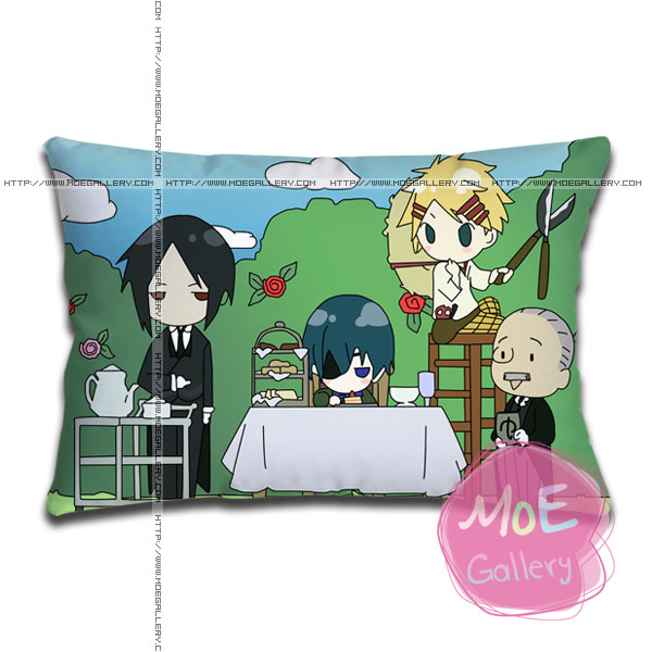 Black Butler Sebastian Michaelis Standard Pillows