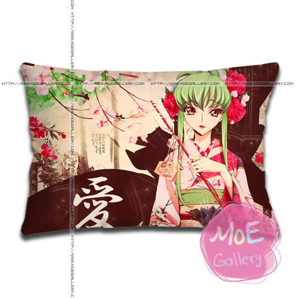 Code Geass C C Standard Pillows A
