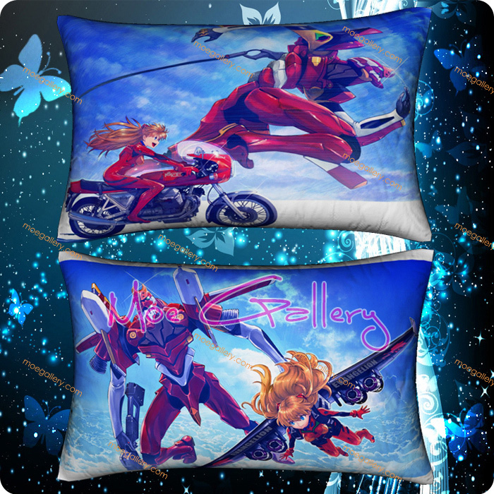 EVA Asuka Langley Soryu Standard Pillows 04