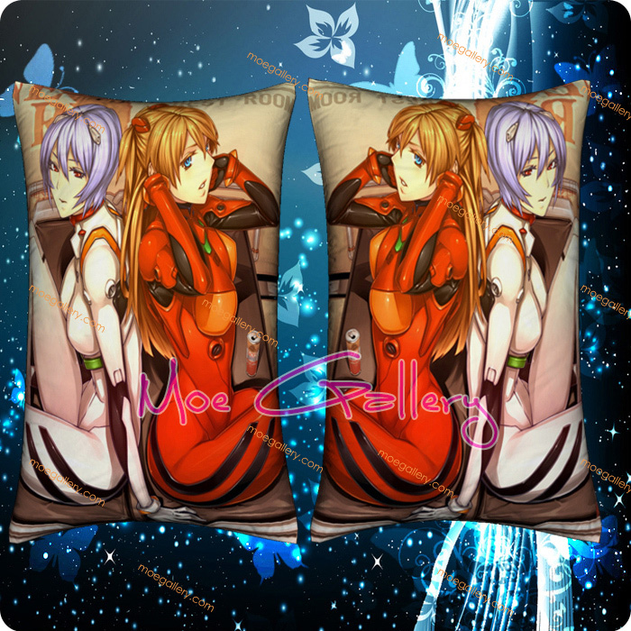 EVA Asuka Langley Soryu Standard Pillows 07