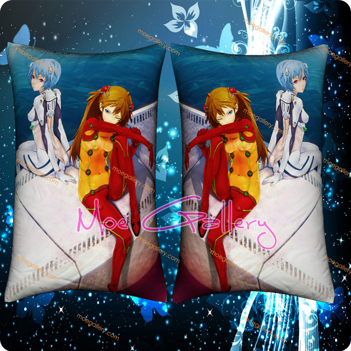 EVA Asuka Langley Soryu Standard Pillows 09
