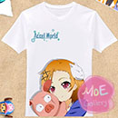 Accel World Chiyuri Kurashima Lime Bell T-Shirt 01