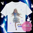 Anohana The Flower We Saw That Day Meiko Honma T-Shirt 02