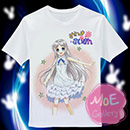 Anohana The Flower We Saw That Day Meiko Honma T-Shirt 04