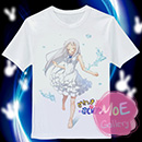 Anohana The Flower We Saw That Day Meiko Honma T-Shirt 06