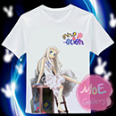 Anohana The Flower We Saw That Day Meiko Honma T-Shirt 10