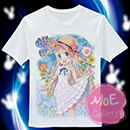 Anohana The Flower We Saw That Day Meiko Honma T-Shirt 14
