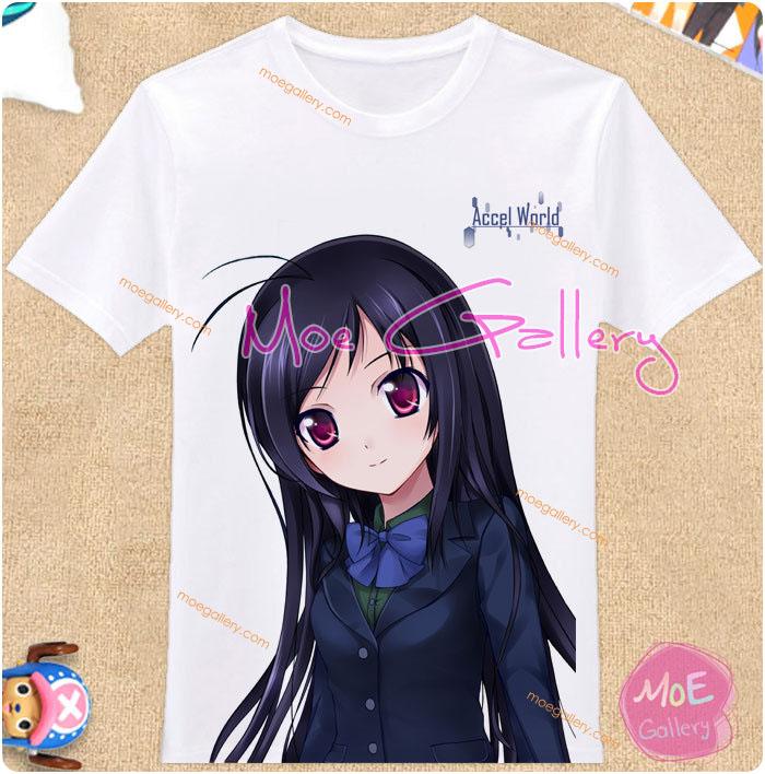 Accel World Kuroyukihime Black Lotus T-Shirt 14