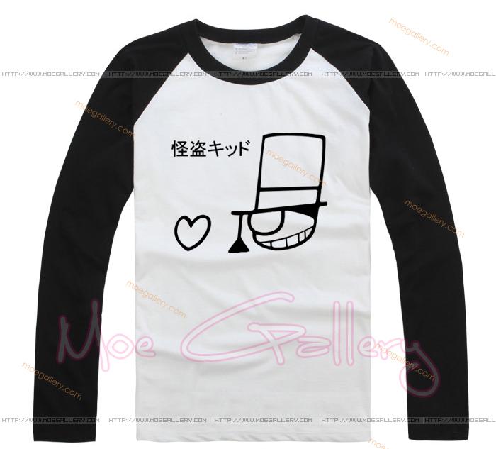 Case Closed Detective Conan Kaito Phantom Thief Kid T-Shirt 01