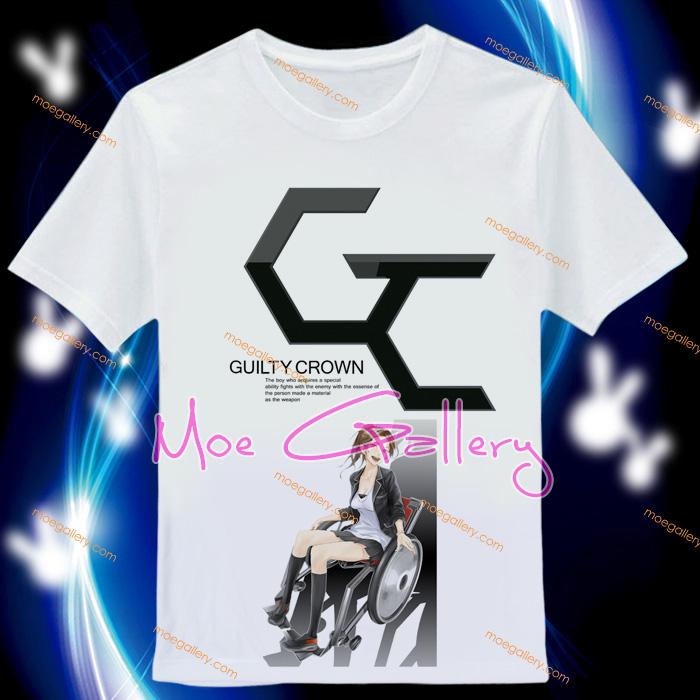 Guilty Crown Inori Yuzuriha T-Shirt 01