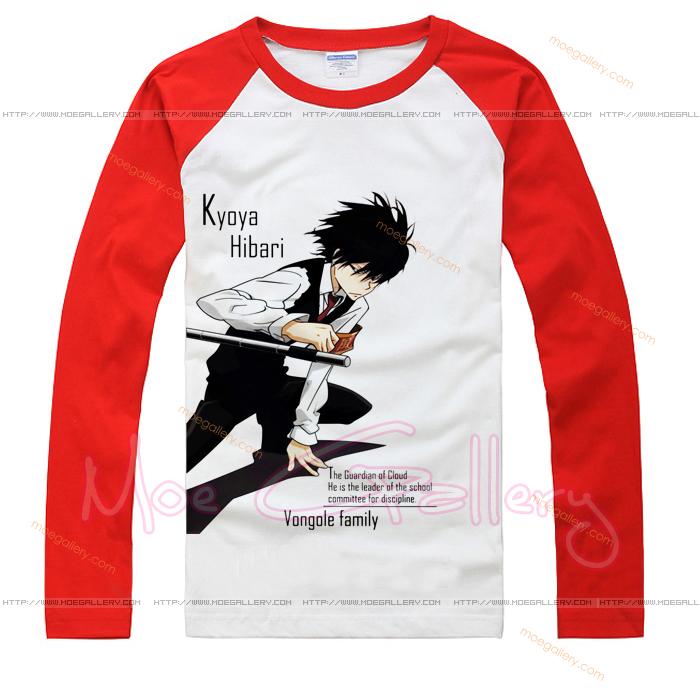 Katekyo Hitman Reborn Kyoya Hibari T-Shirt 02