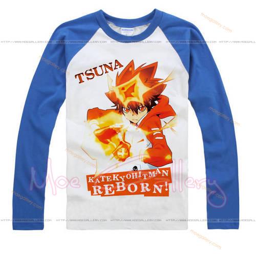 Katekyo Hitman Reborn Tsunayoshi Sawada T-Shirt 03