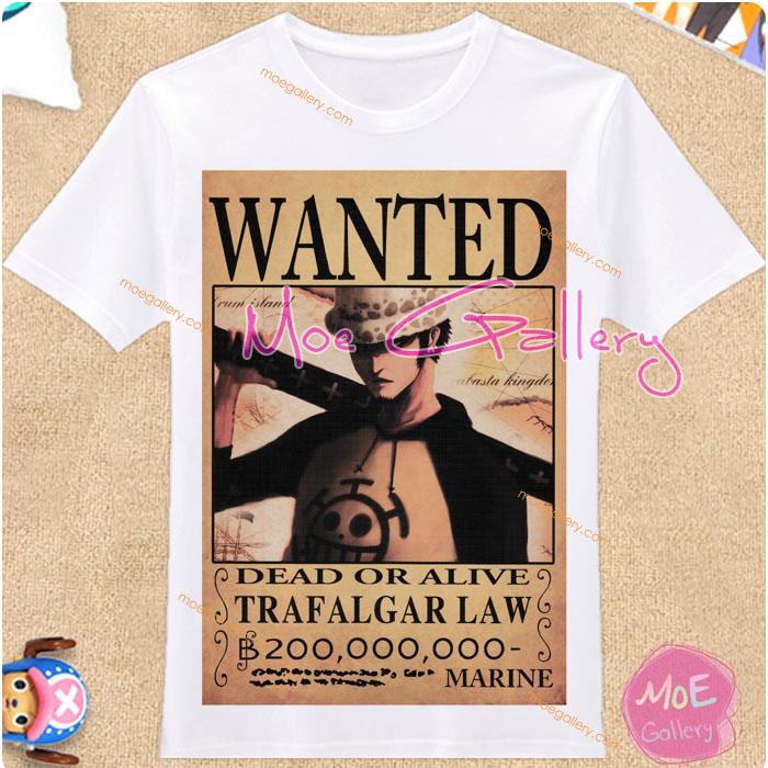 One Piece Trafalgar Law T-Shirt 01