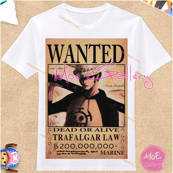One Piece Trafalgar Law T-Shirt 02