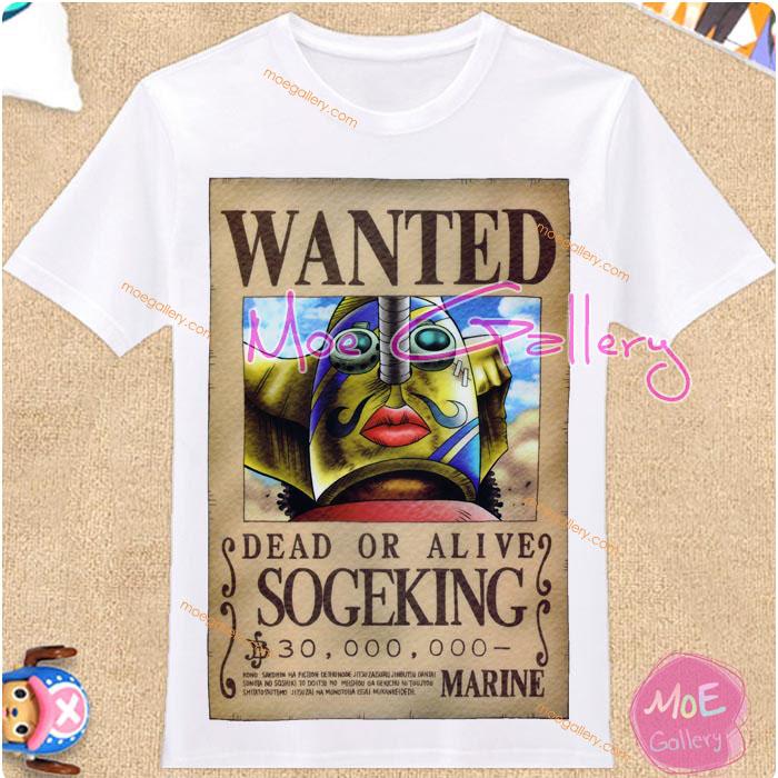One Piece Usopp Sogeking T-Shirt 01