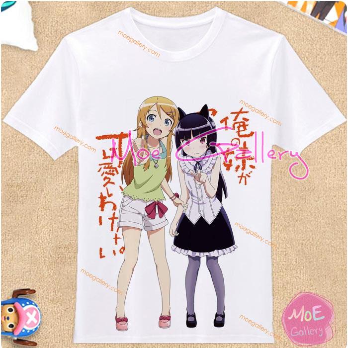 Ore No Imoto ga Konna Ni Kawaii Wake Ga Nai Kirino Kosaka Ruri Goko Kuroneko T-Shirt 01