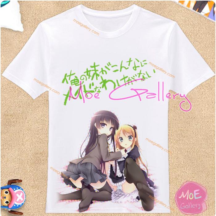 Ore No Imoto ga Konna Ni Kawaii Wake Ga Nai Kirino Kosaka Ruri Goko Kuroneko T-Shirt 05