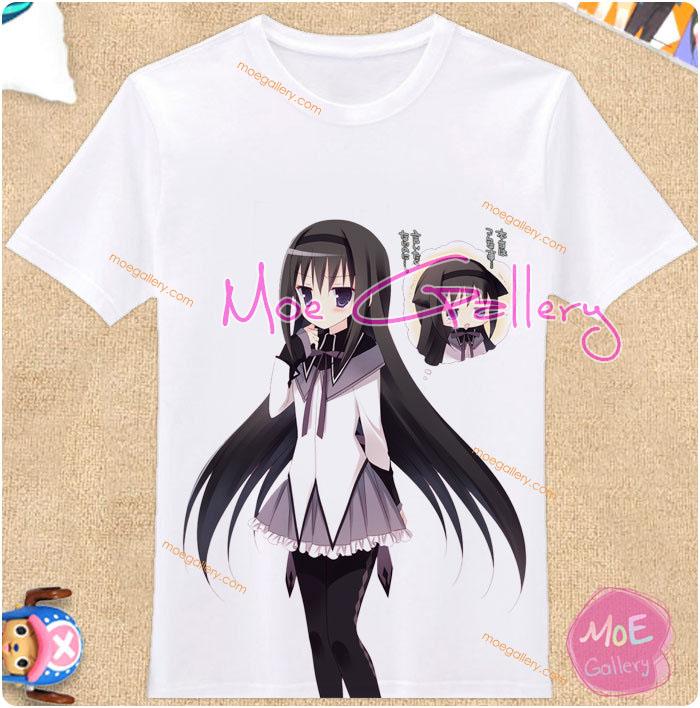 Puella Magi Madoka Magica Homura Akemi T-Shirt 01