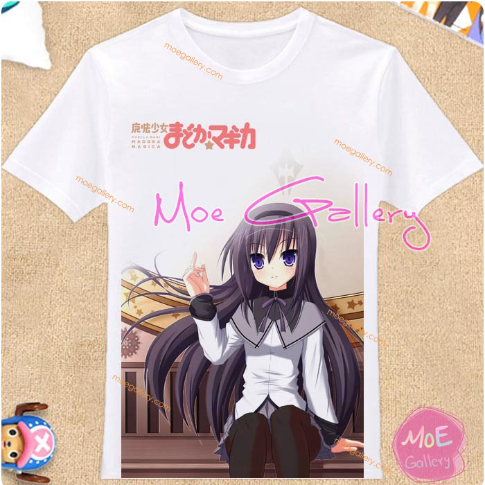 Puella Magi Madoka Magica Homura Akemi T-Shirt 02