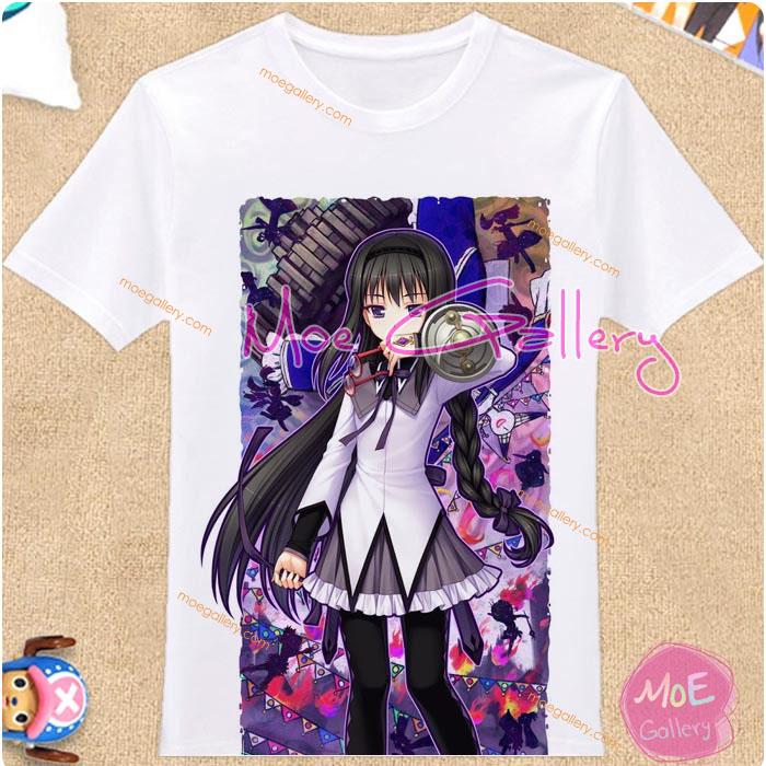 Puella Magi Madoka Magica Homura Akemi T-Shirt 03