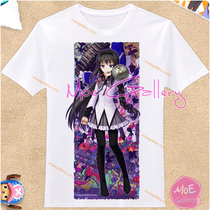 Puella Magi Madoka Magica Homura Akemi T-Shirt 04
