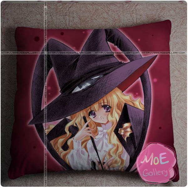 Alcot Anime Girl Throw Pillow Style B