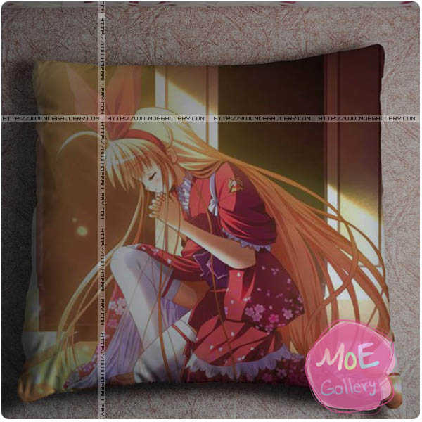 Alcot Anime Girl Throw Pillow Style C