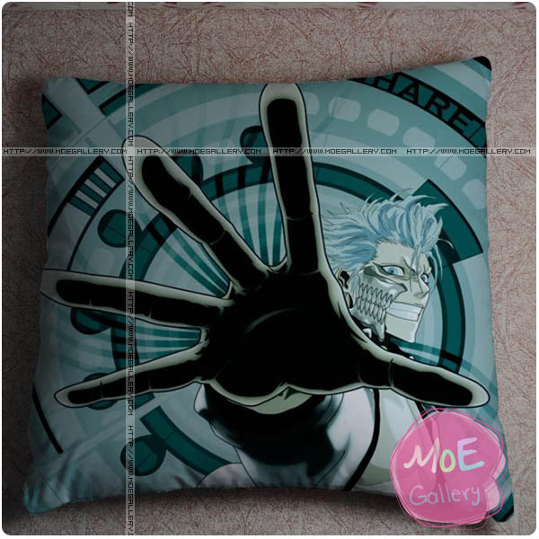 Bleach Grimmjow Jaegerjaques Throw Pillow Style A