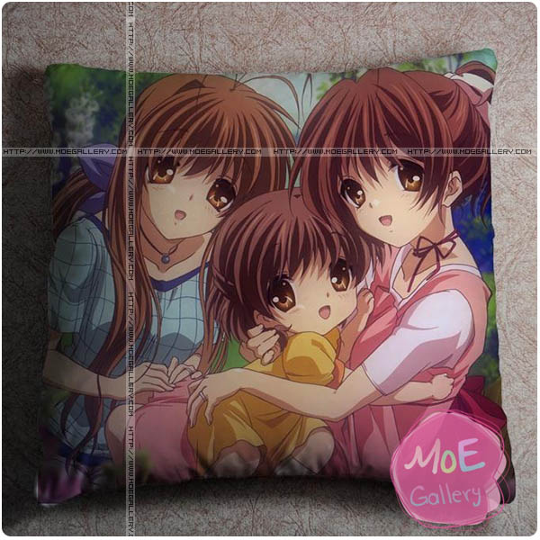 Clannad Nagisa Furukawa Throw Pillow Style C