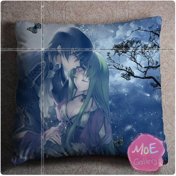 Code Geass C.C Throw Pillow Style E