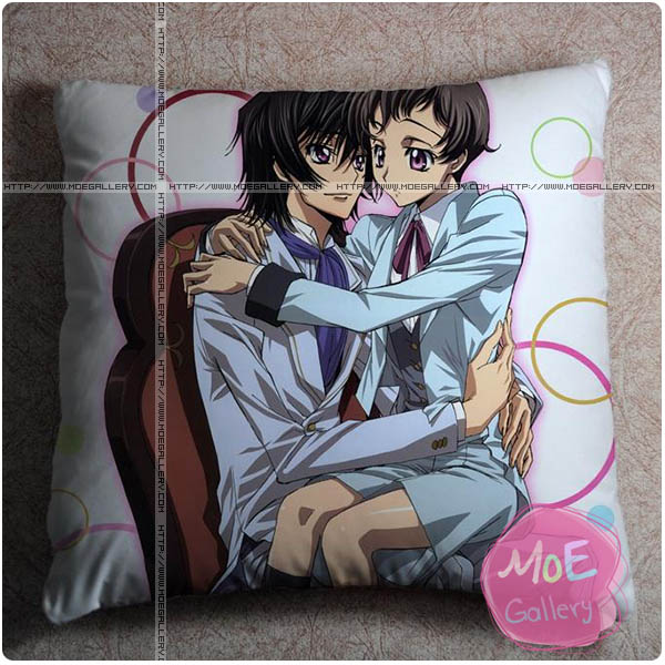 Code Geass Lelouch Lamperouge Throw Pillow Style D