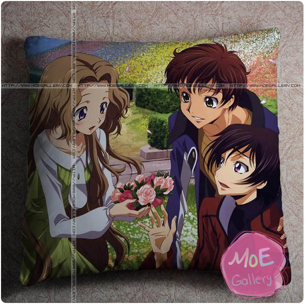 Code Geass Nunnally Lamperouge Throw Pillow Style C