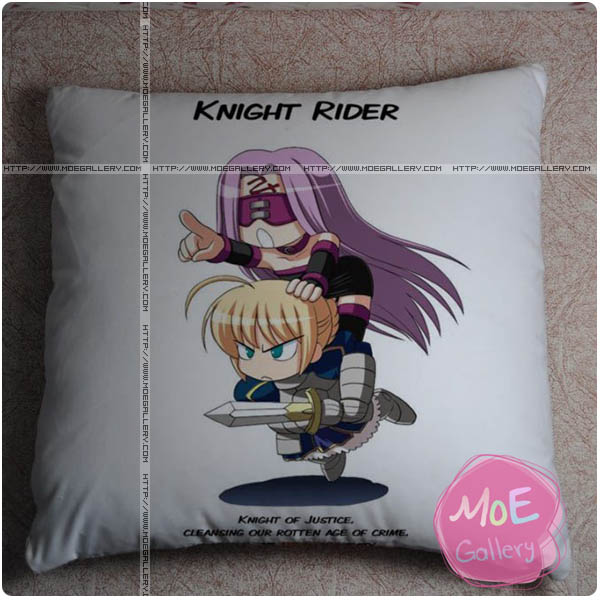 Fate Zero Saber Throw Pillow Style F