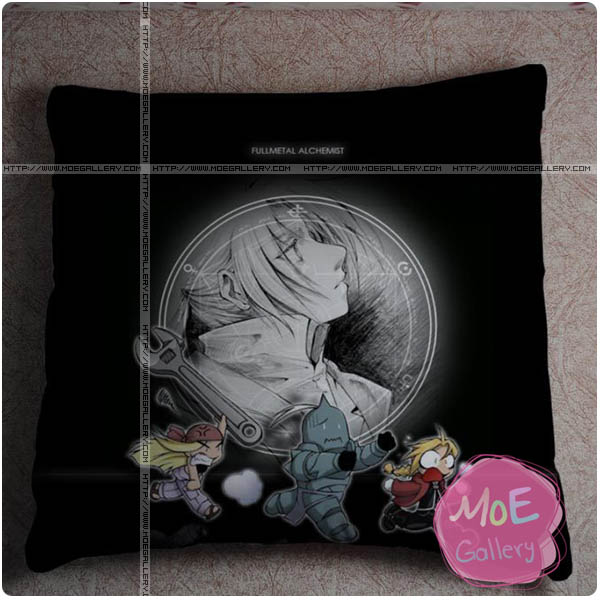 Fullmetal Alchemist Edward Elric Throw Pillow Style A