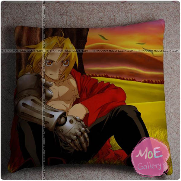 Fullmetal Alchemist Edward Elric Throw Pillow Style D