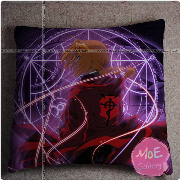 Fullmetal Alchemist Edward Elric Throw Pillow Style E