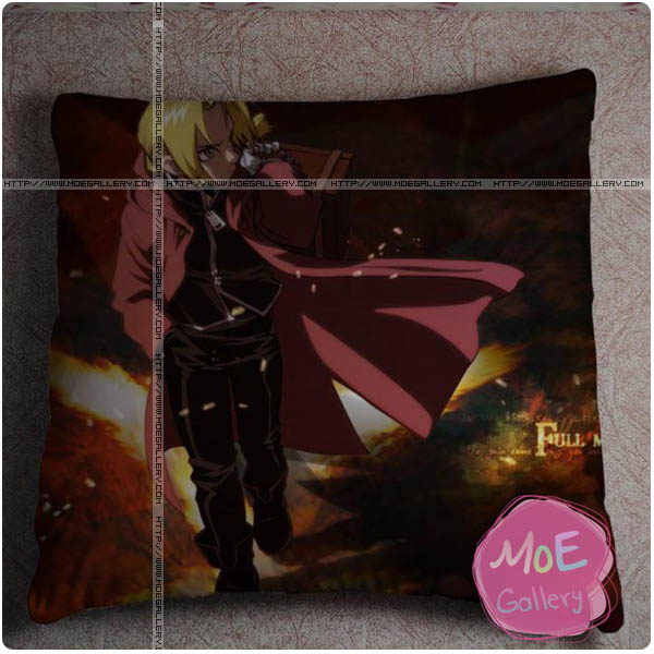 Fullmetal Alchemist Edward Elric Throw Pillow Style H